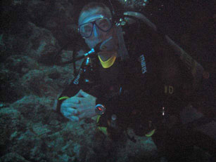 Doug - the man who taught me to dive!